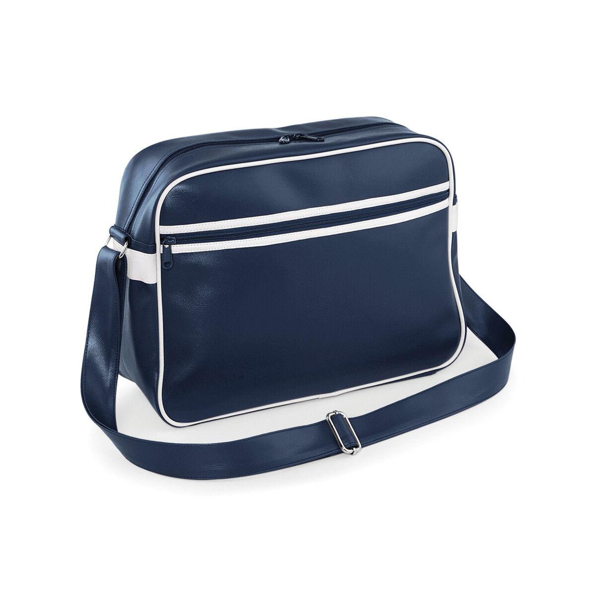 Retro PVC Messenger Bag