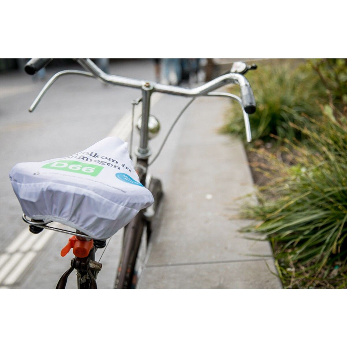 Recycled Bike Seat Cover