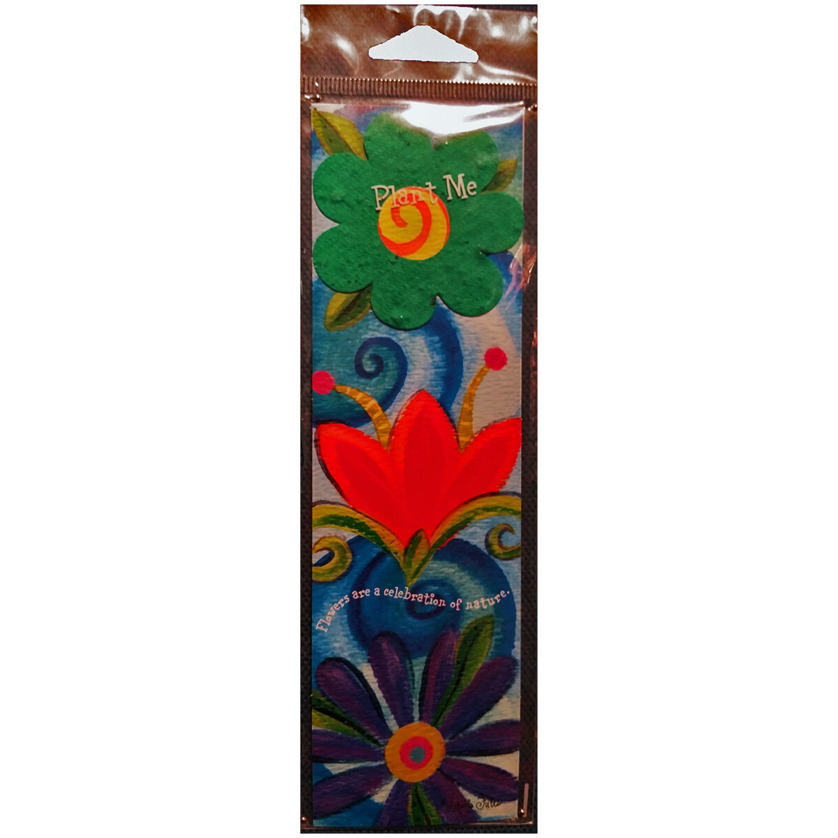 Seeded Paper Bookmarks & Cards