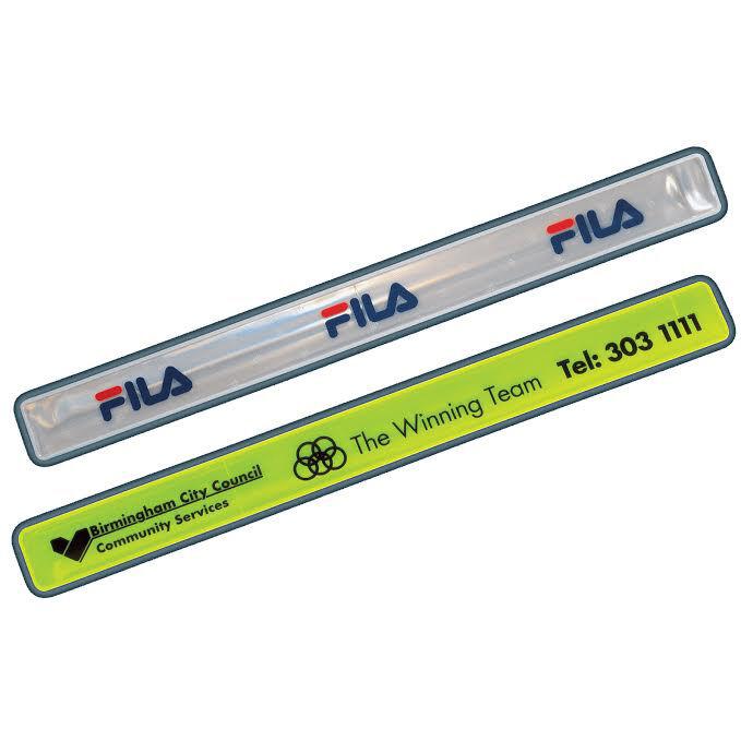 Slap Wrap High Vis Wristbands for Branding