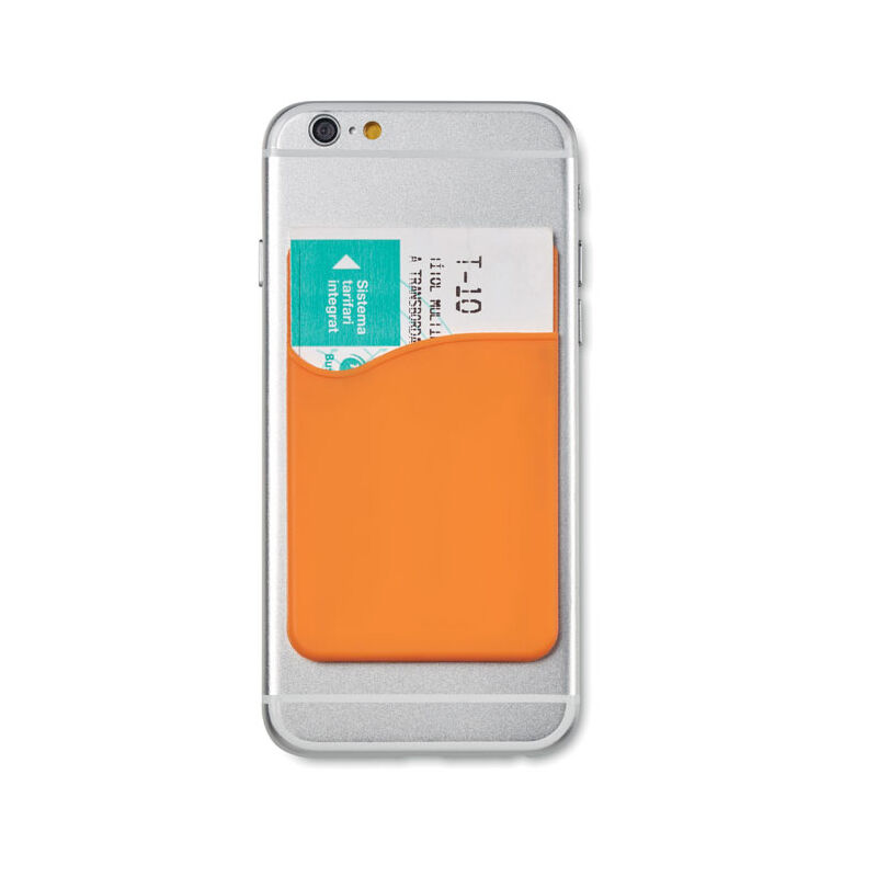 Smartphone Cardholder (Orange)