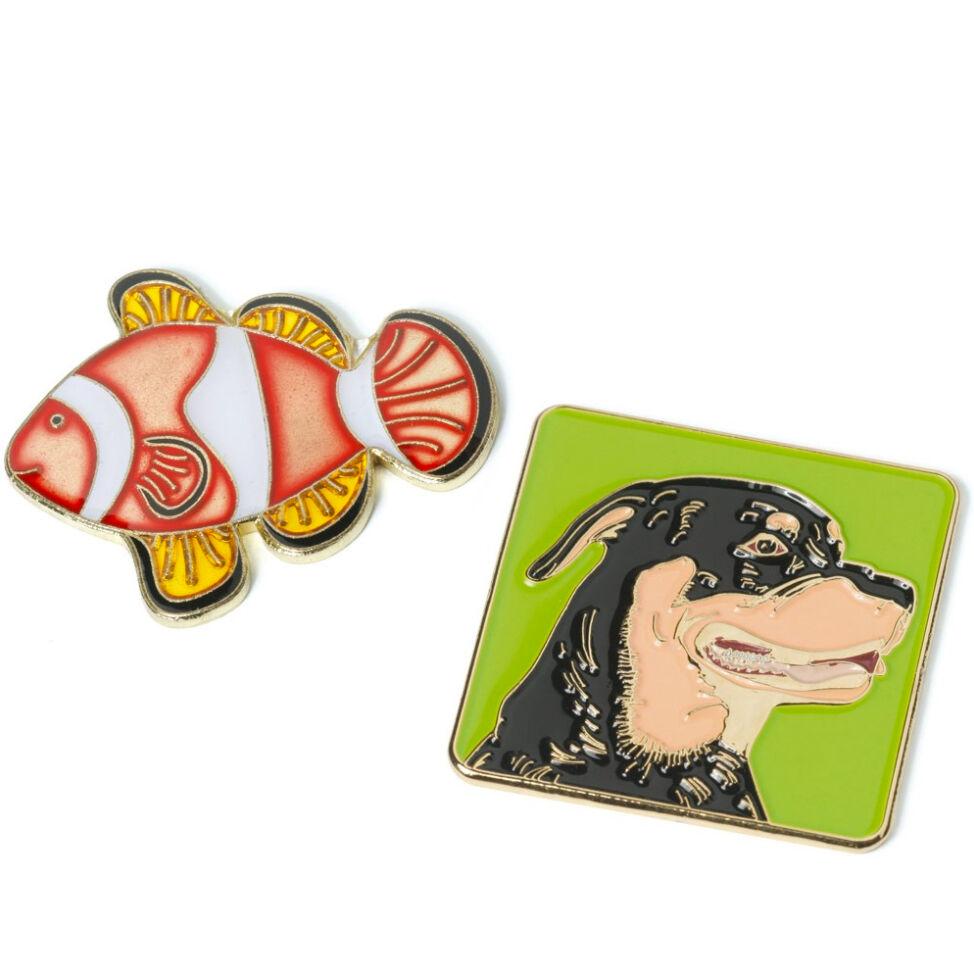 Pin Badge in Soft Enamel