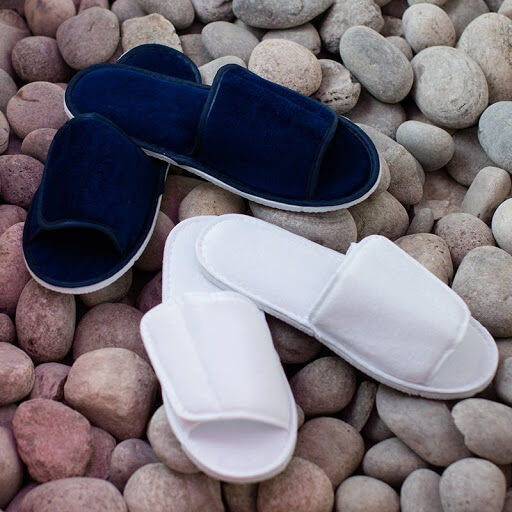 Hotel Spa Slippers with Strap