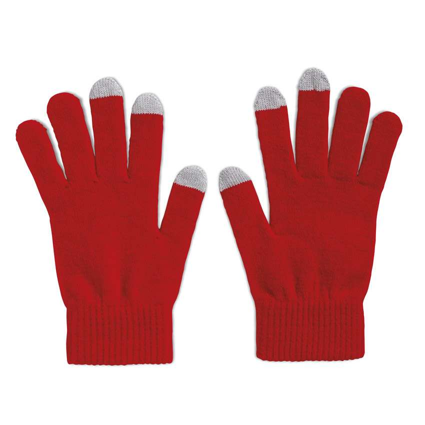 Touch Screen Gloves - Red