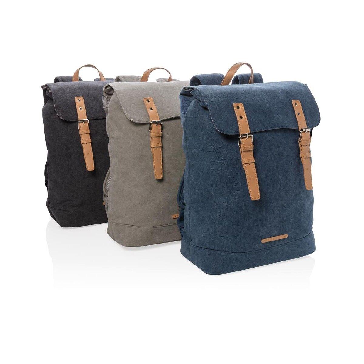 Traveller Canvas Laptop Backpack