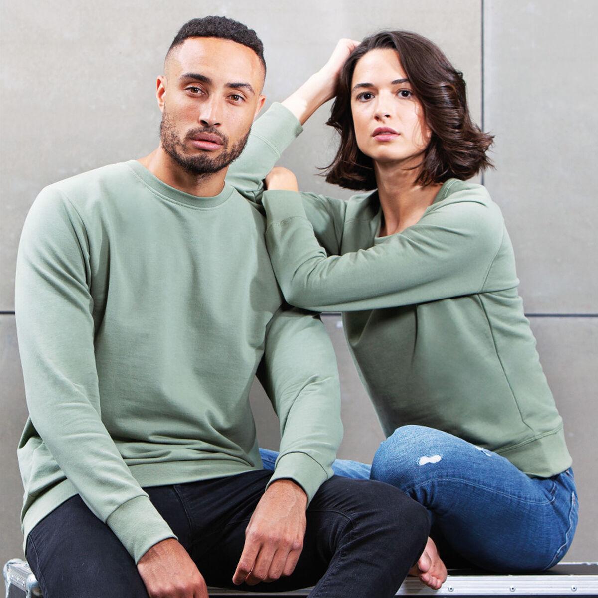 Unisex Mantis Sweatshirt - Soft Olive