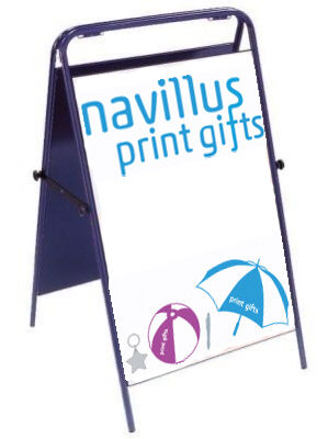 Full Colour Printed Pavement A-Board Signs