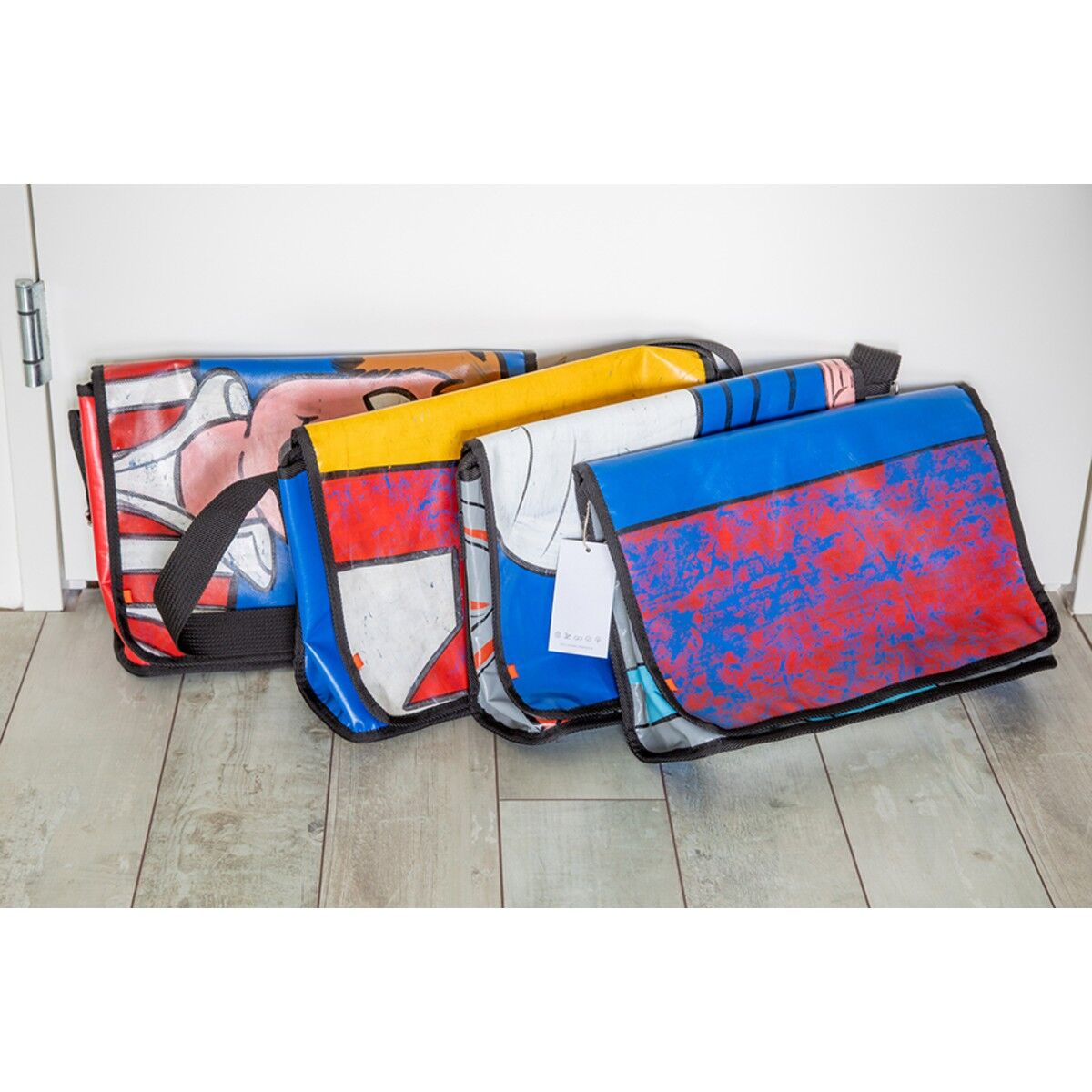 Upcycled Bouncy Castles Bag
