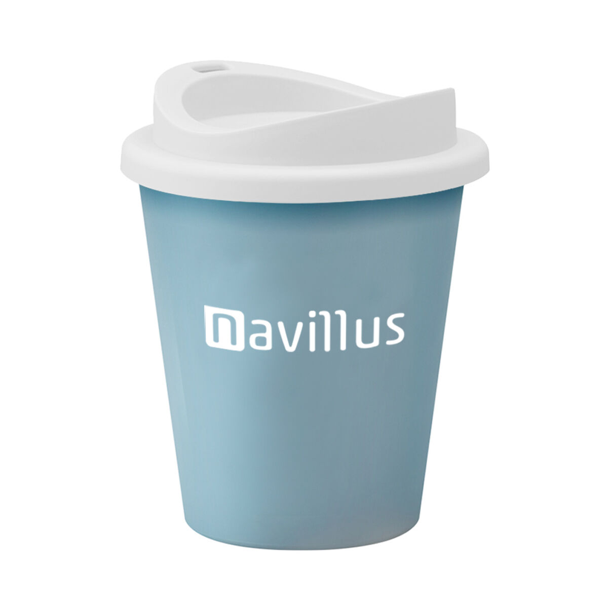 Vending Coffee Cups in Light Blue
