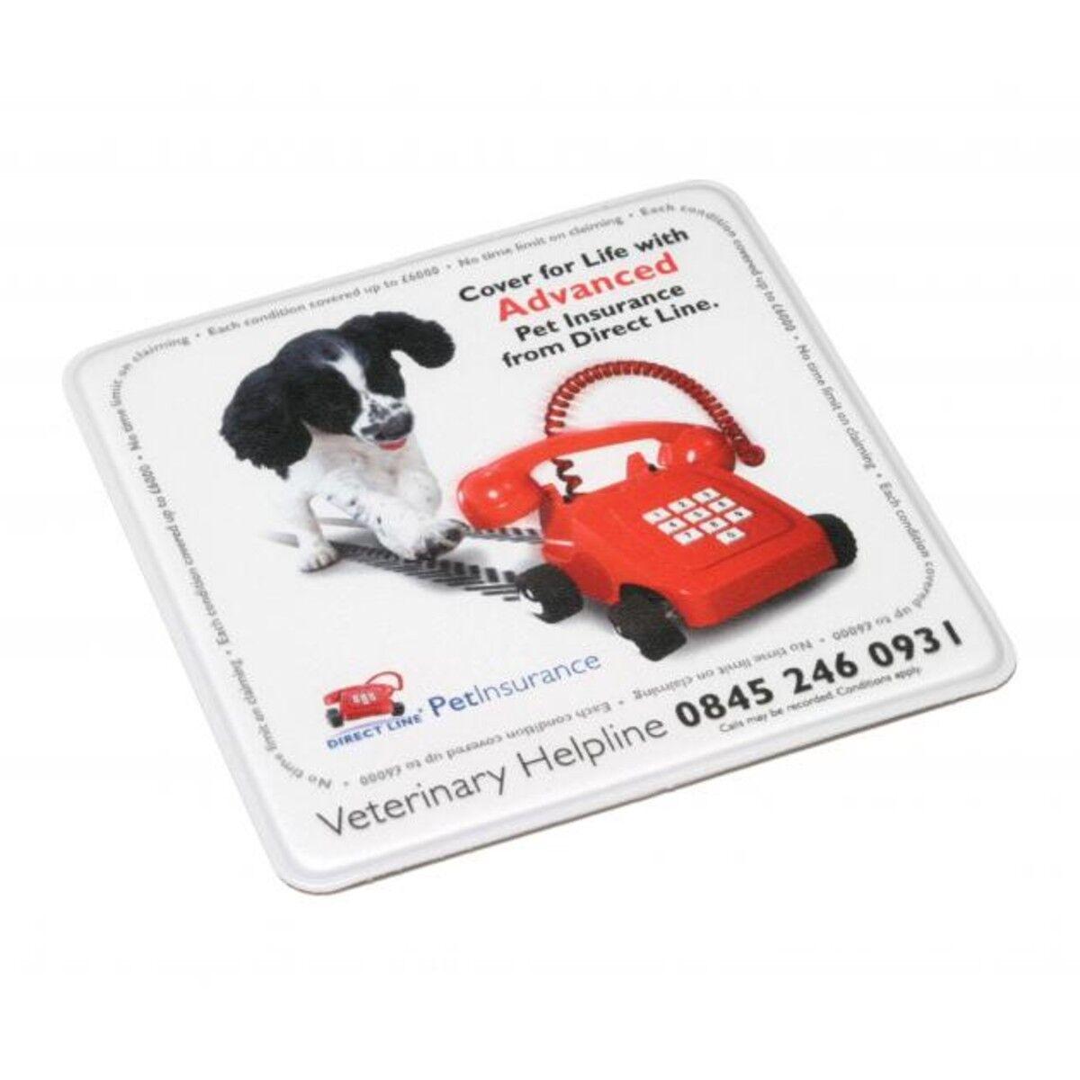 PVC Antibacterial Coaster