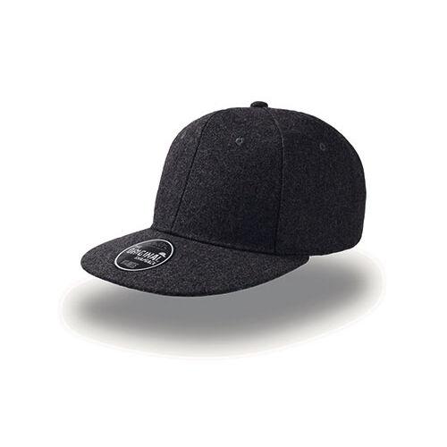 Winter baseball cap - black