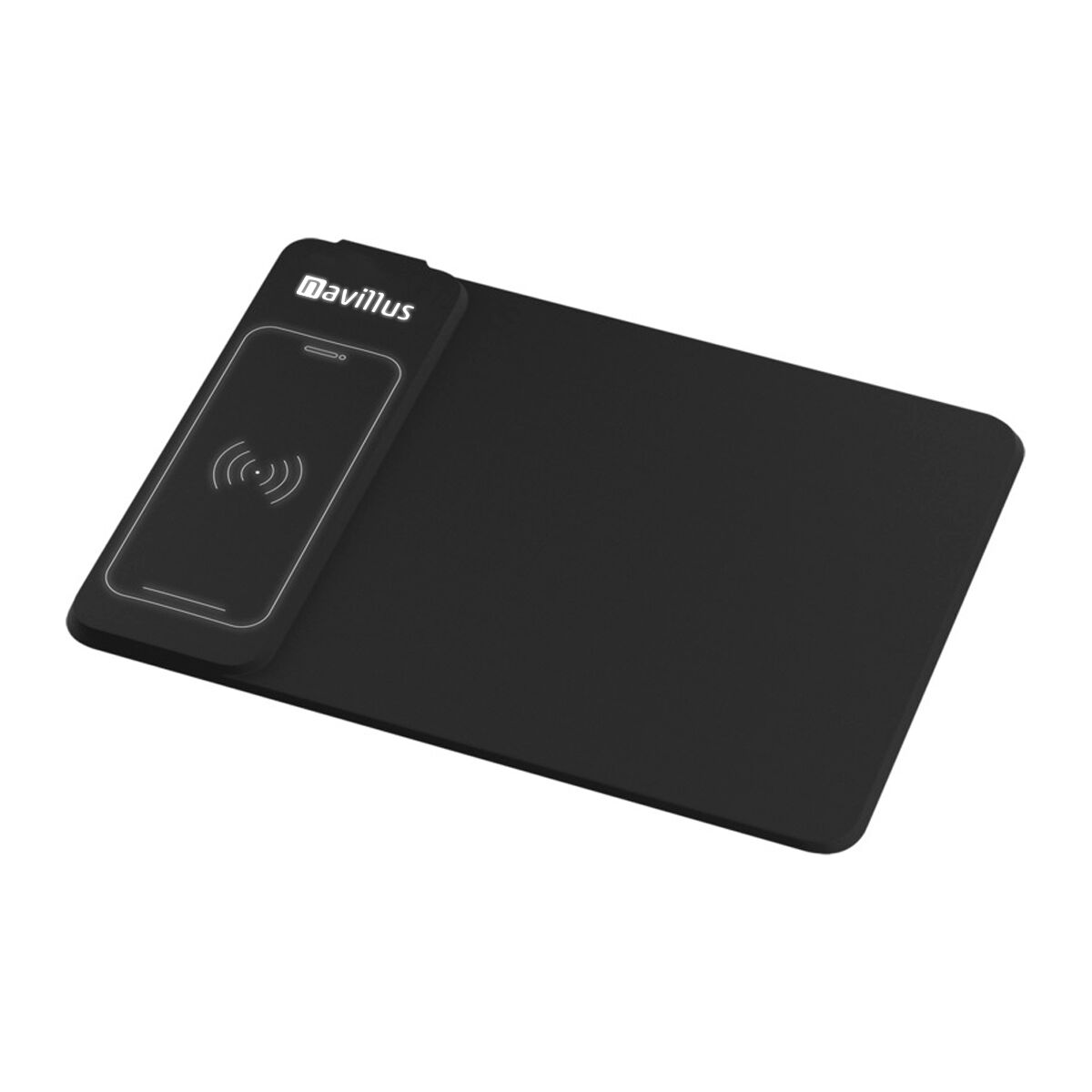 Wireless Charging Mouse Mat & Light Up Logo