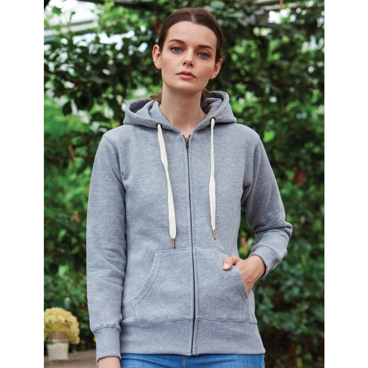 Mantis Womans zipped Hoodie