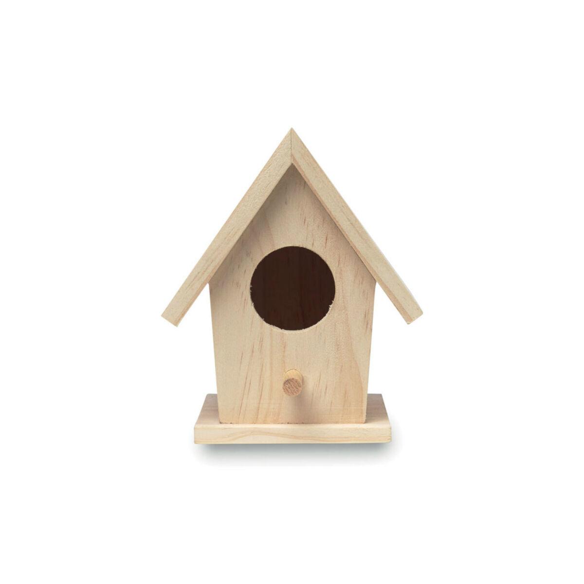 Wooden Birdie House