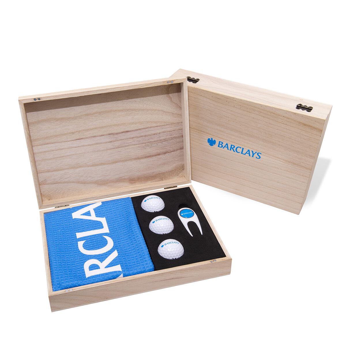 Wooden Golf Presentation Box