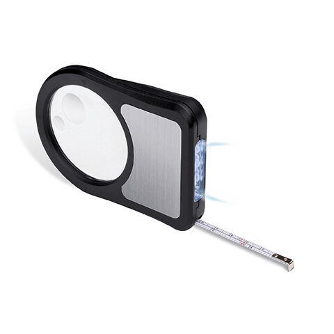 Magnifier & Tape Measure with Light