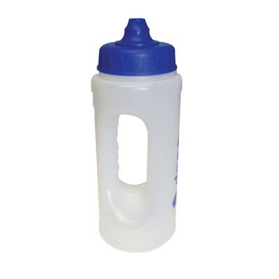 Sports Bottle with Handle - Blue