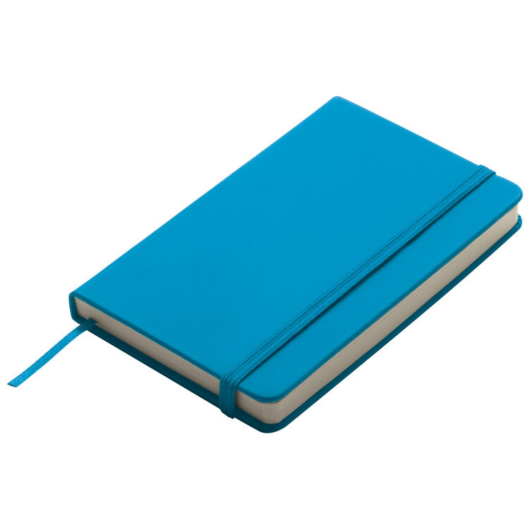 A6 Smooth PU Notebook  Turquoise