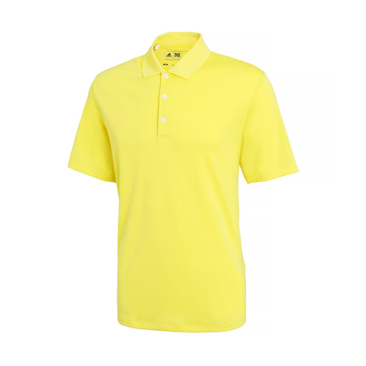 Adidas Golf Polo (Light Yellow)