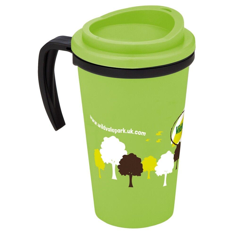 Americano Mug with Handle - Green