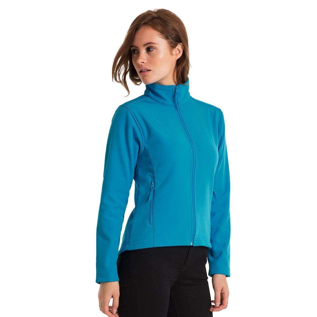 B&C Softshell Jacket Blue