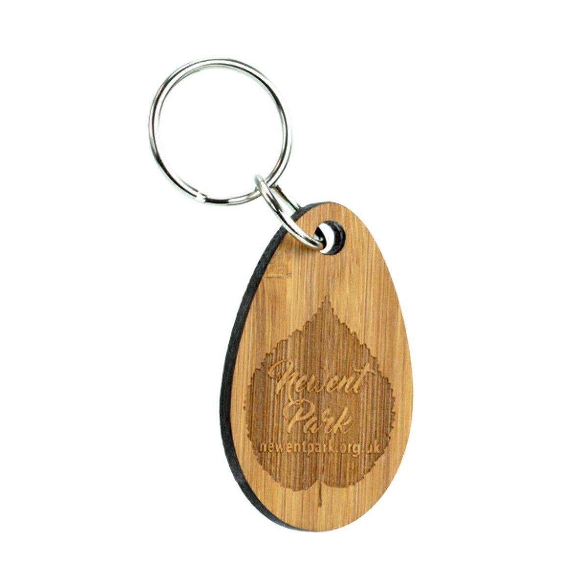 Sustainable Wood Keyring