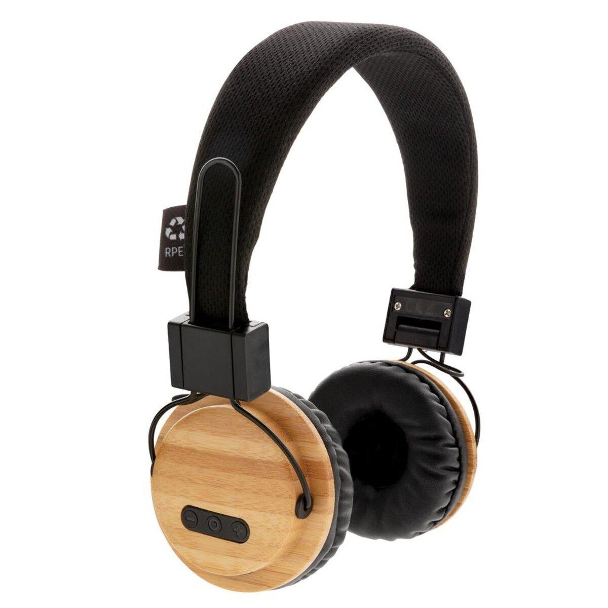 Wireless Bamboo Headphone