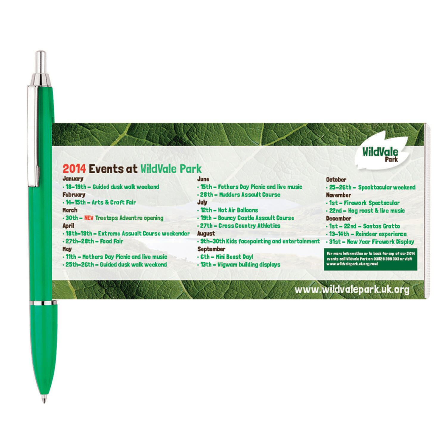Banner Pens for Printing - Green