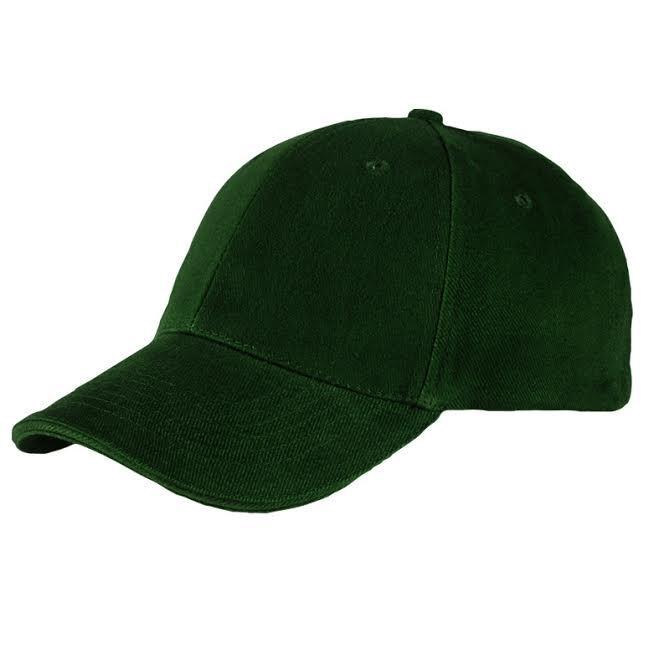 Baseball Caps Heavy Brushed Cotton - Green