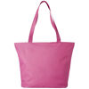 Beach Bags with Zip - Pink
