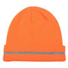 Hi Vis Reflective Beanie Hats - Orange