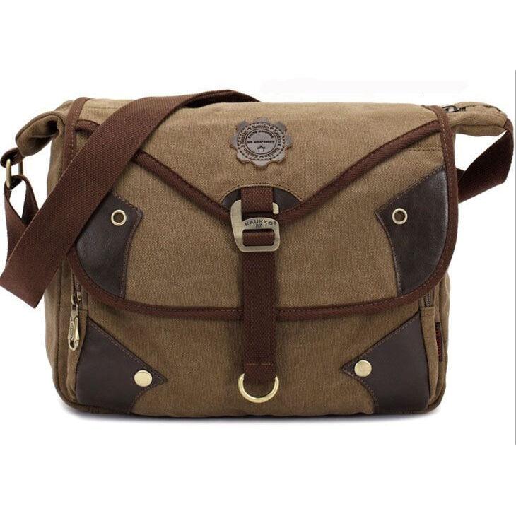 Bespoke Branded Canvas Messenger Bags
