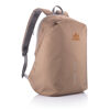 Bobby Soft, anti-theft backpack (brown, with sample branding)