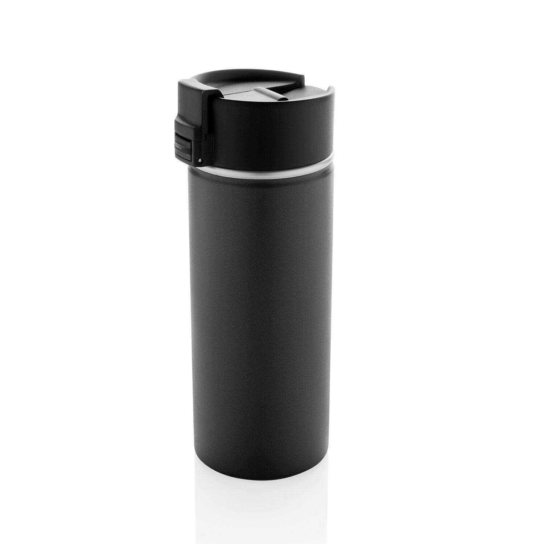 Bogota vacuum mug with ceramic coating black