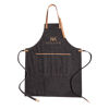 Canvas chef apron (sample branding)