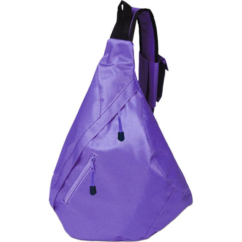 Triangular City Backpack - Purple