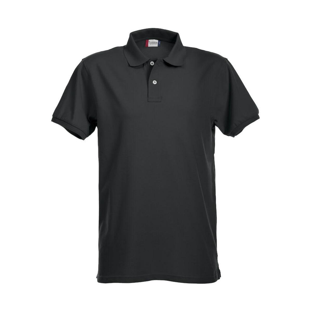 Clique Premium Polo Shirt (Men's Black)