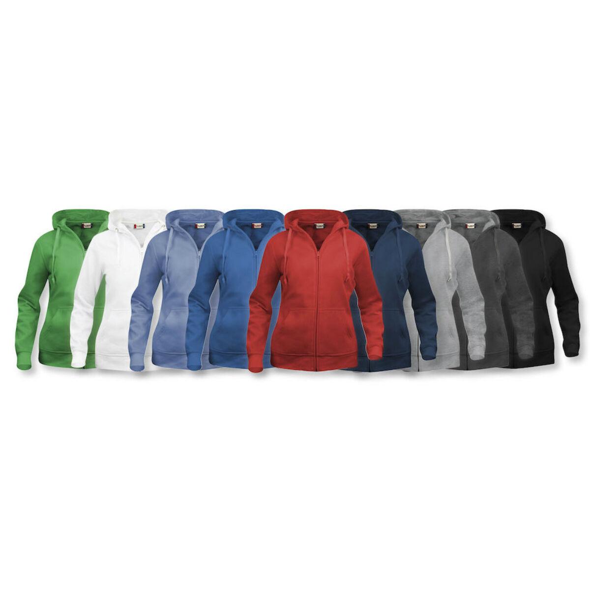 Clique Zip Hoodie Colours
