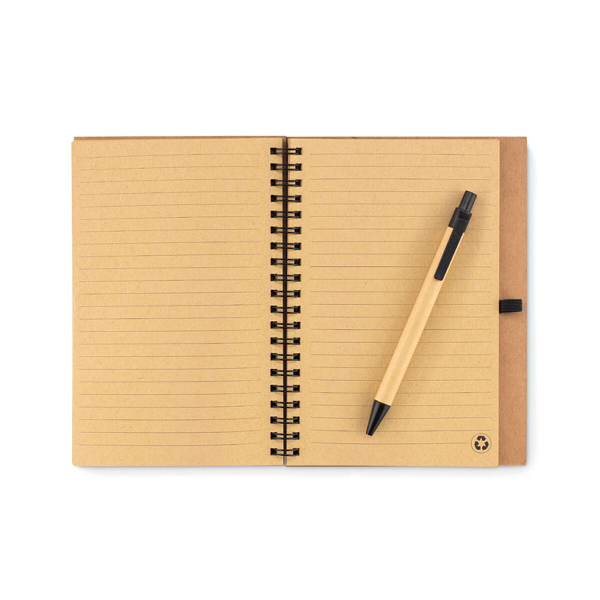 Cork Cover Notebook & Recycled Paper