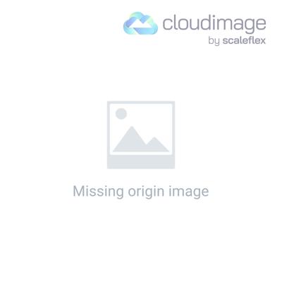 Transparent Cosmetics Bag with Coloured Trim - Orange