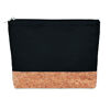 Cotton & Cork Cosmetic Bag Black