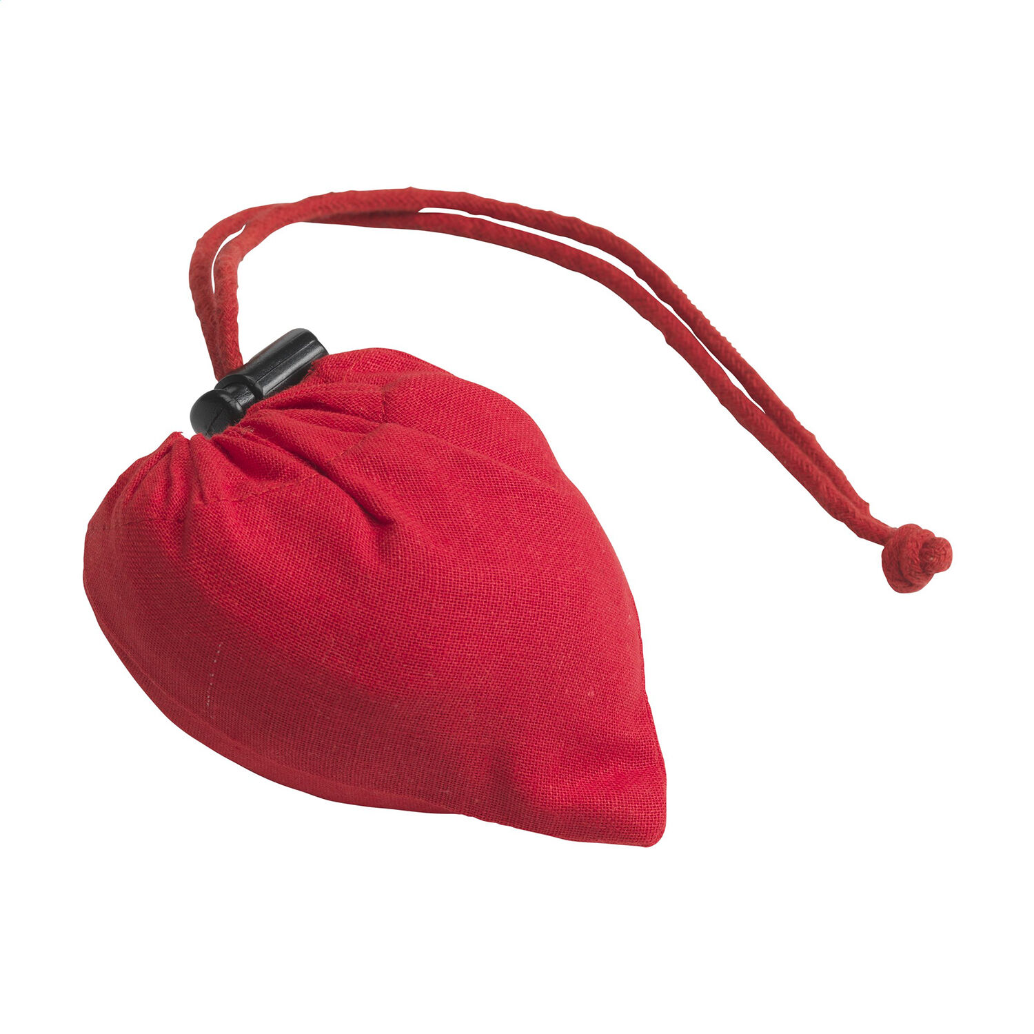Folding Cotton Shopping Bags Red