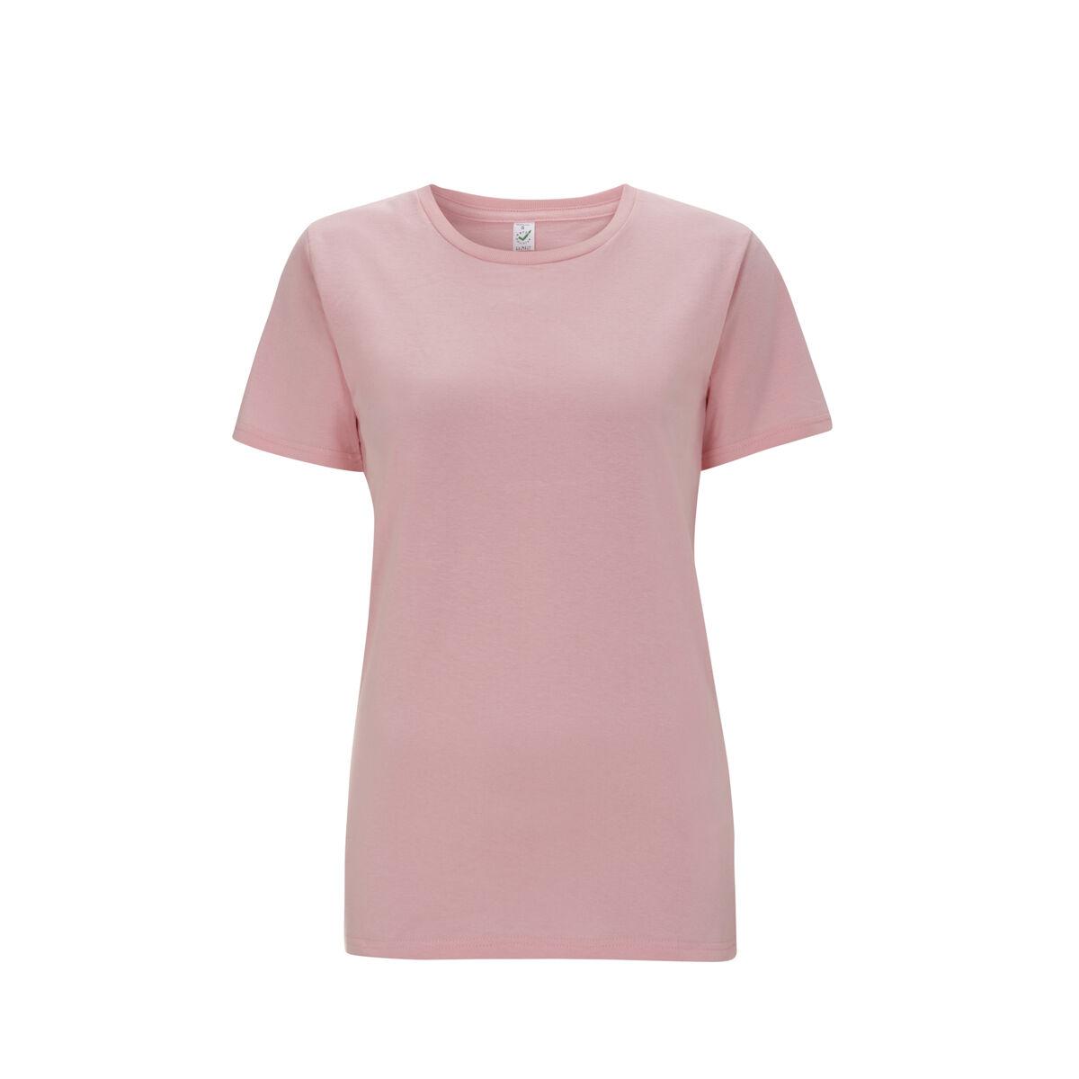 Organic Earth Positive Ladies T-Shirts Pink