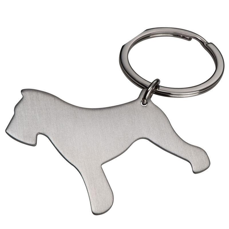 Dog Shaped Keyring