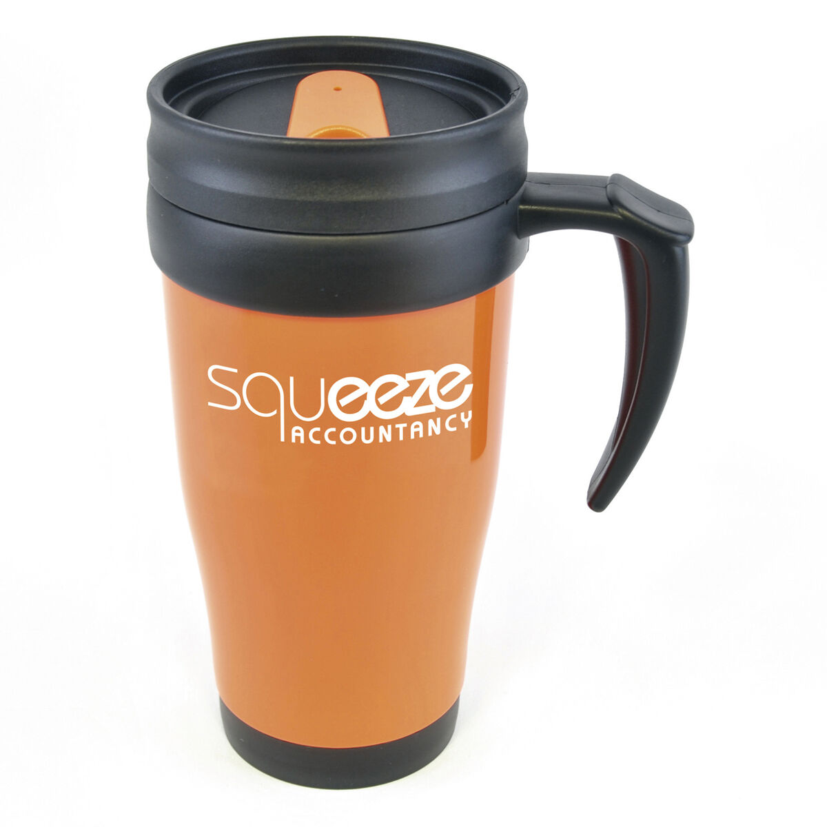 Thermal Mugs With Lids Orange