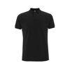 Earth Positive Organic Cotton Polo Shirts Black