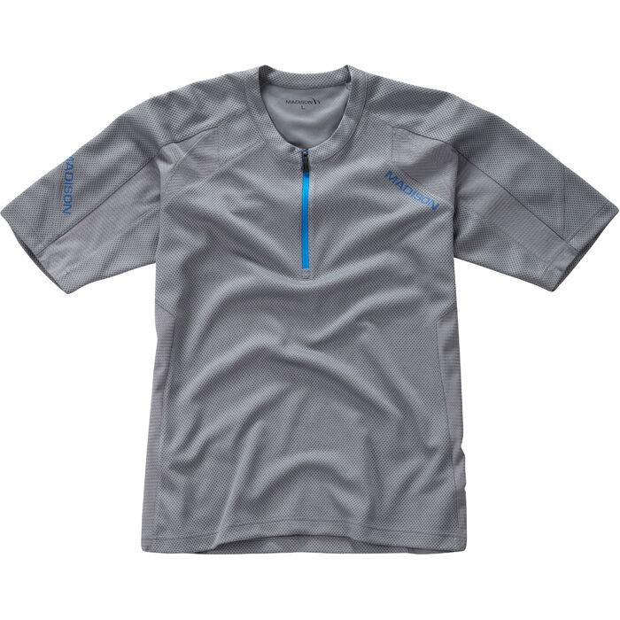 Flux Singletrack Men's S/S Jersey - Grey