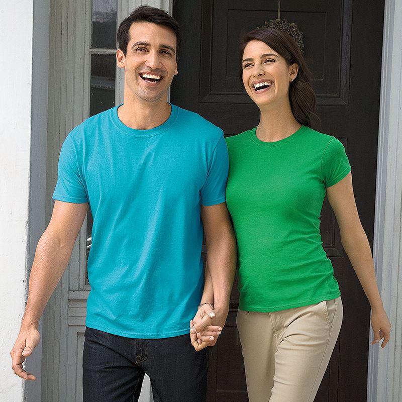 Gildan Ladies' Soft Style T-Shirt - Kiwi