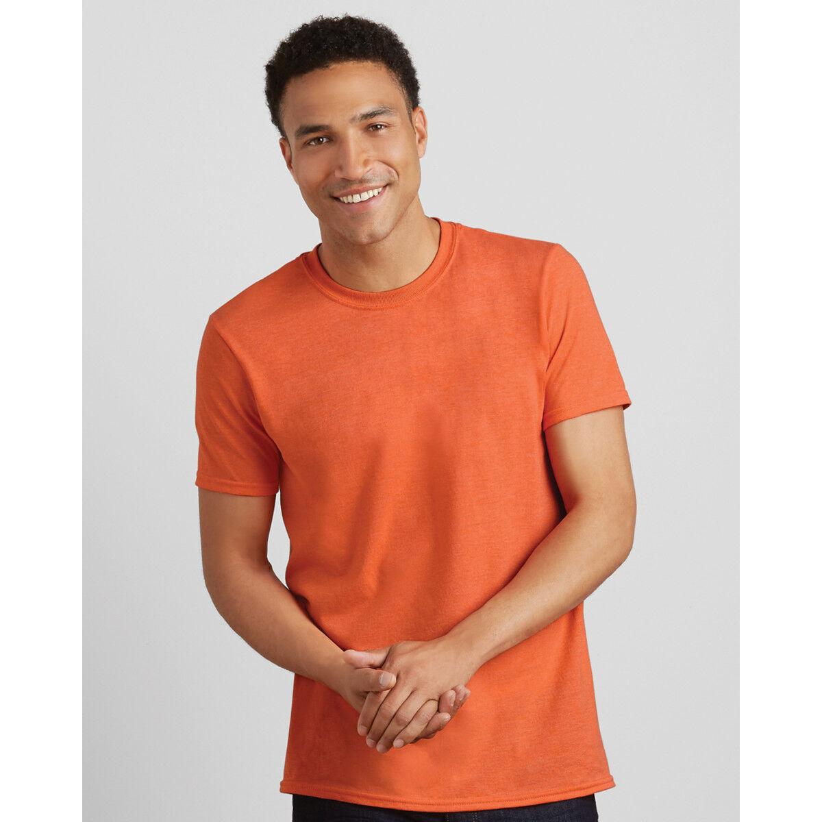 Gildan Men's Soft-Style T-Shirt - Orange