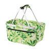 Printed Shopper Baskets - Green Print